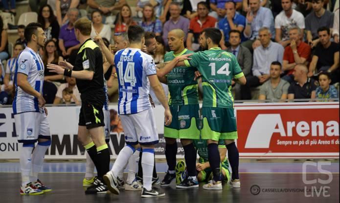 Diretta streaming Futsal Luparense-Pescara (gara 3)