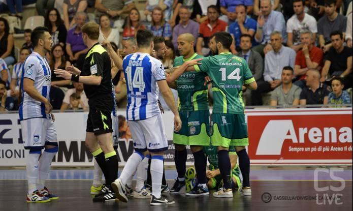 YOUTUBE Calcio a 5, rissa tra Luparense e Pescara: abruzzesi si ritirano